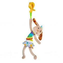 Dětská plyšová hračka s vibrací - pejsek - Akuku