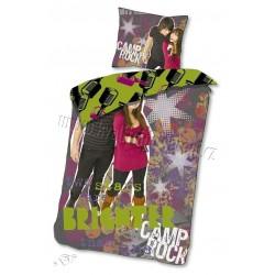 Dětské povlečení - Camp Rock - fialové - 140x200