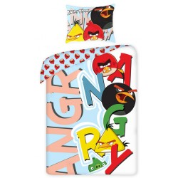 Dětské povlečení - Angry Birds - písmena - 140x200