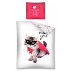 Dětské povlečení - Kočka Zoro - 140 x 200 - Detexpol