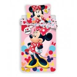 Dětské povlečení - Minnie Pink - 140 x 200 - Jerry Fabrics