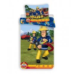 Dětské povlečení - Požárník Sam - 140 x 200 - Jerry Fabrics