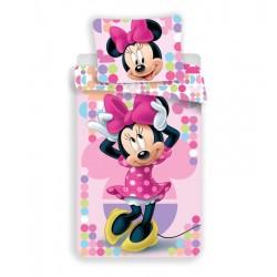 Dětské povlečení - Minnie - růžové - 140x200