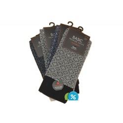 Pánské klasické bavlněné ponožky Basic 97770-M - 4 páry