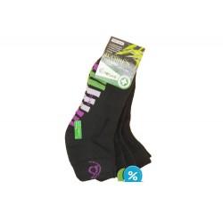 Dámské bambusové kotníkové termo ponožky Pesail BW4551 - 3 páry