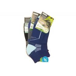 Dámské bambusové kotníkové termo ponožky Pesail BW4554 - 3 páry