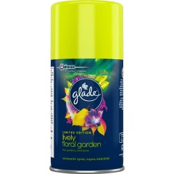 Glade by Brise Automatic Spray, náplň - Květinová zahrada, 269 ml