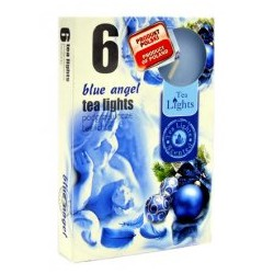 Čajové svíčky - Modrý anděl - 6 ks - Admit