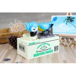 Pokladnička na mince - Hladový papoušek