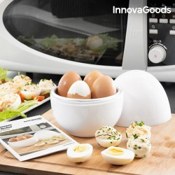 Vařič na vajíčka do mikrovlnné trouby s recepty - InnovaGoods