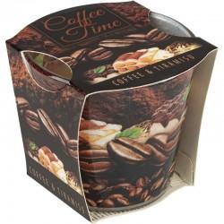 Vonná svíčka ve skle - Káva a Tiramisu, 115 g