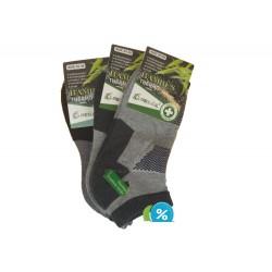 Dámské bambusové kotníkové termo ponožky Pesail BW4559 - 3 páry