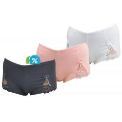 Dámské bavlněné francouzské kalhotky Rita C-384 - 1 ks