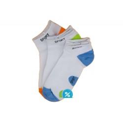 Dámské bavlněné kotníkové ponožky Pesail LW087 - 3 páry