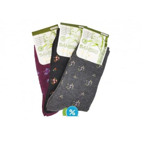 Dámské klasické bambusové ponožky Pesail SN115 - 3 páry