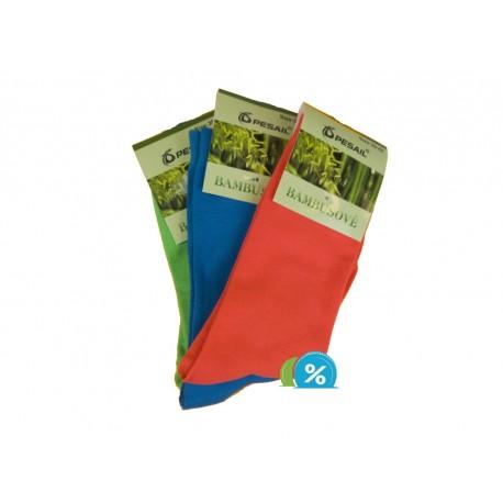 Dámské klasické bambusové ponožky Pesail SN1103 - 3 páry