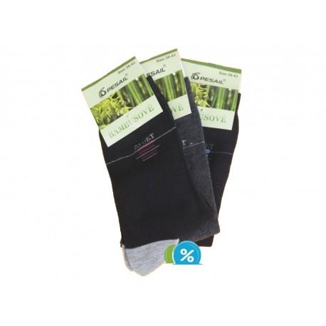 Pánské klasické bambusové ponožky Pesail SC2302 - 3 páry