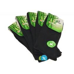 Pánské klasické zdravotní bambusové ponožky A3-13 - 5 párů - AMZF