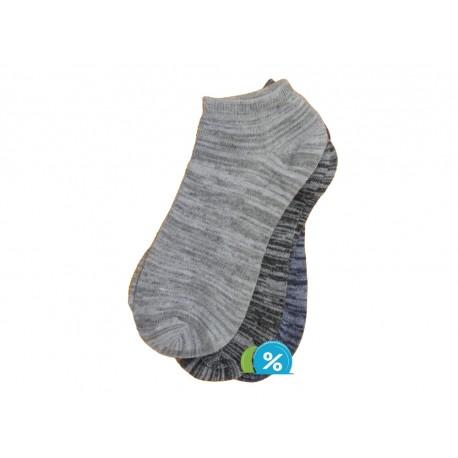 Dámské kotníkové bambusové ponožky ROTA H019 - 3 páry