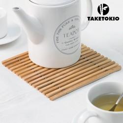 Ohebná bambusová podložka pod hrnec - TakeTokio