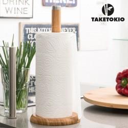 Bambusový držák na kuchyňské utěrky - TakeTokio