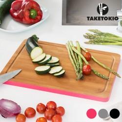 Bambusové kuchyňské prkénko - obdélníkové, šedé - TakeTokio
