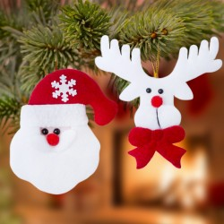 Sada vánočních dekorací - 2 ks