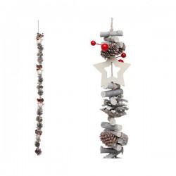 Vánoční řetěz - dekorační - 100 cm