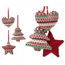 Vánoční ozdoba na stuze - 12 cm