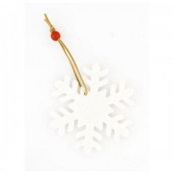 Vánoční ozdoba - sněhová vločka