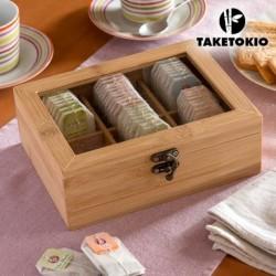 Bambusová krabice na čaj - TakeTokio