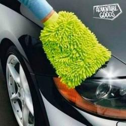 Rukavice na mytí auta - mikrovlákno