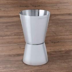 Odměřovač na panáky - stříbrný