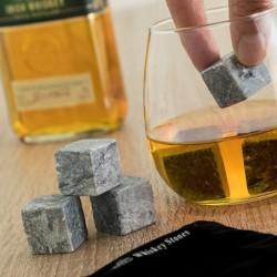 Set chladících kamenů do nápojů - kostky