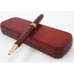 Kuličkové pero v dřevěném pouzdru