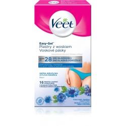 Voskové depilační pásky na oblast bikin pro citlivou pokožku - 16ks - Veet
