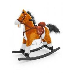 Houpací koník - Mustang - Milly Mally - světle hnědý
