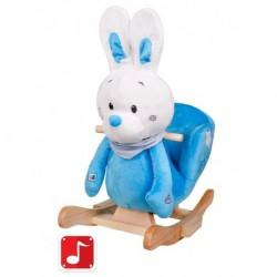 Houpací hračka - modrý králíček - PlayTo