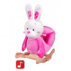 Houpací hračka - růžový králíček - PlayTo
