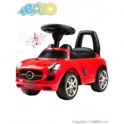 Dětské odrážedlo Mercedes-Benz - červené - Bayo