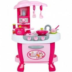 Velká dětská kuchyňka s dotykovým sensorem + příslušenství - Bayo