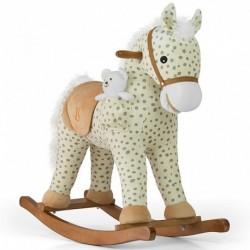 Houpací koník Pony - Milly Mally - béžový puntíkovaný