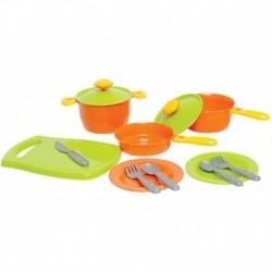 Sada dětského plastového nádobí v sáčku