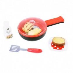Dětská opékací pánev s potravinami