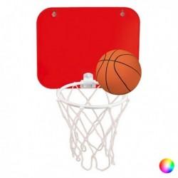 Basketbalový koš na stěnu - červený