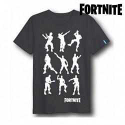 Unisex tričko - Fortnite 75061 - krátký rukáv - černé