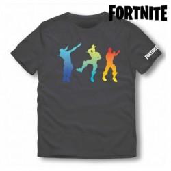 Dětské tričko - Fortnite 75056 - krátký rukáv - černé