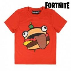 Dětské tričko - Fortnite 75060 - krátký rukáv - červené