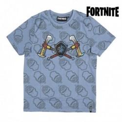 Dětské tričko - Fortnite 75058 - krátký rukáv - šedé