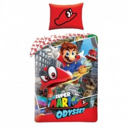 Bavlněné povlečení - Super Mario - 140 x 200 - Halantex